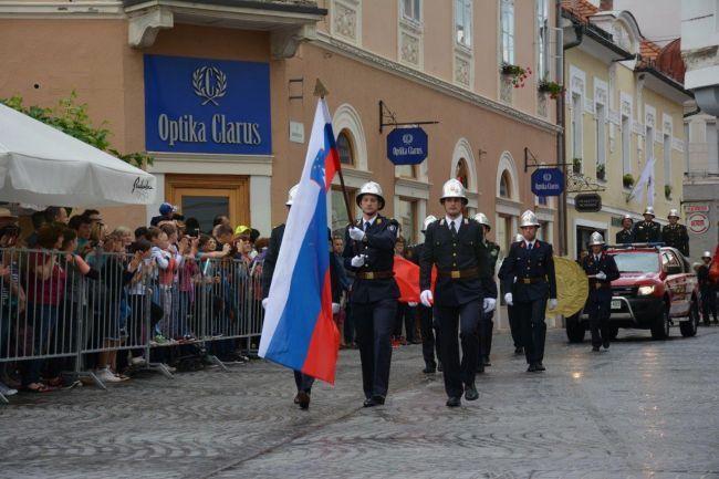 Začetek parade