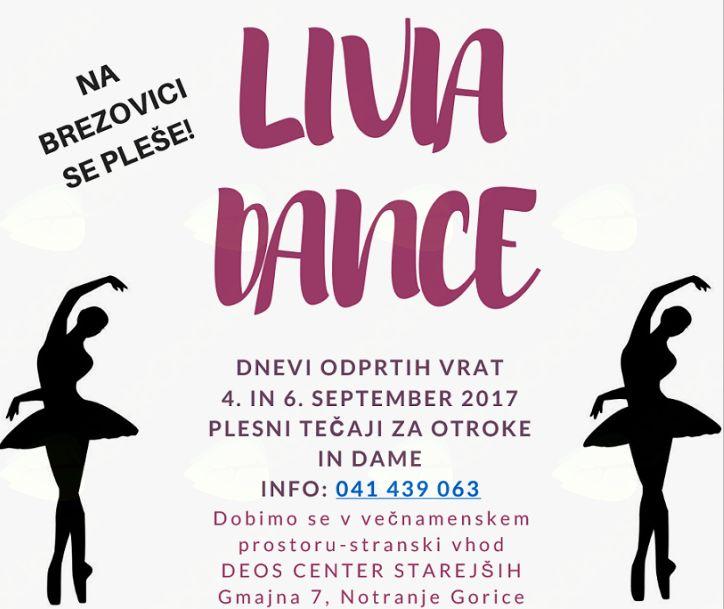 LIVIA DANCE DNEVI ODPRTIH VRAT