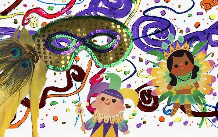Plesne pustne igrarije - plesna animacija za otroke in starše - Vabljeni!