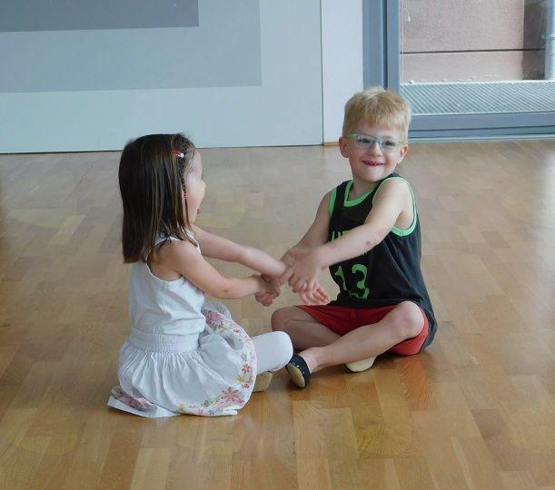Predstavitev plesnih uric Livia dance predšolski otroci 3–4 leta