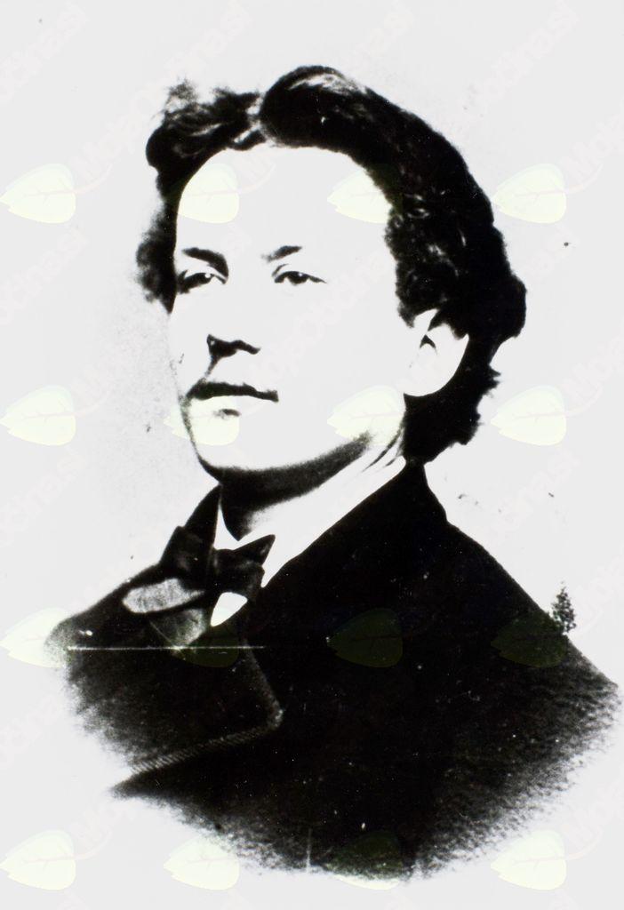Josip Kocijančič - eden vidnejših in pomembnejših članov kanalske čitalnice (Fototeka Goriškega muzeja)