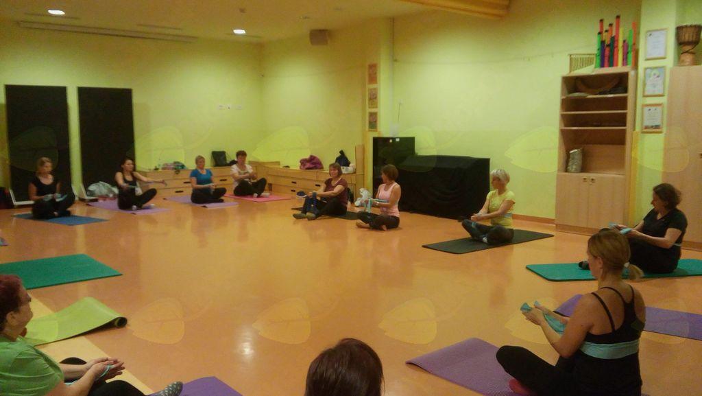 Pilates v Vrtcu Mavrica Trebnje