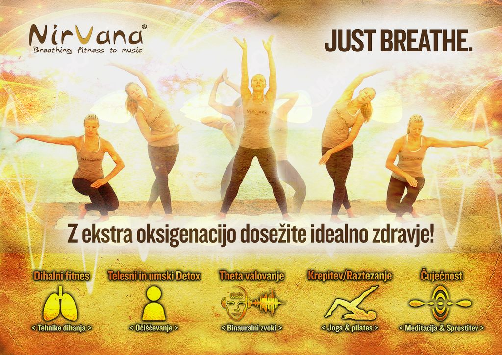 Brezplačna predstavitvena vadba NIRVANA fitnes