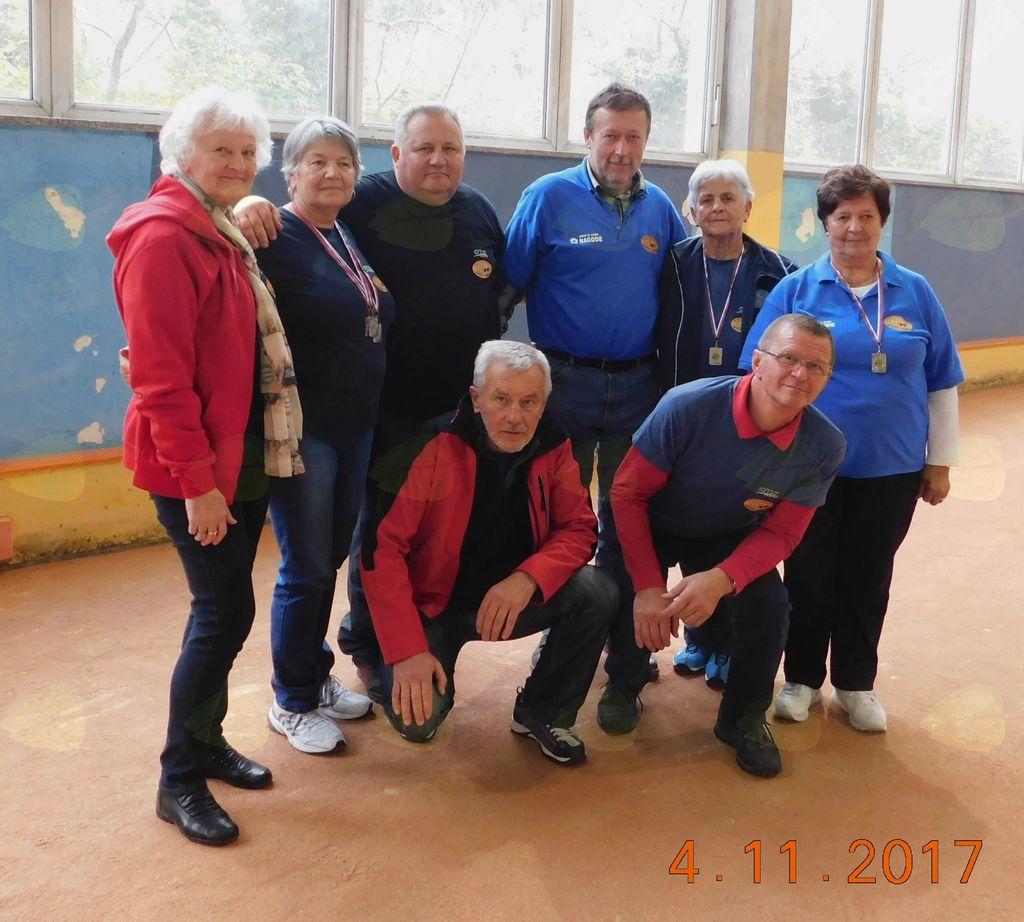 M/Ž ekipa Športnega društva Baron Logatec