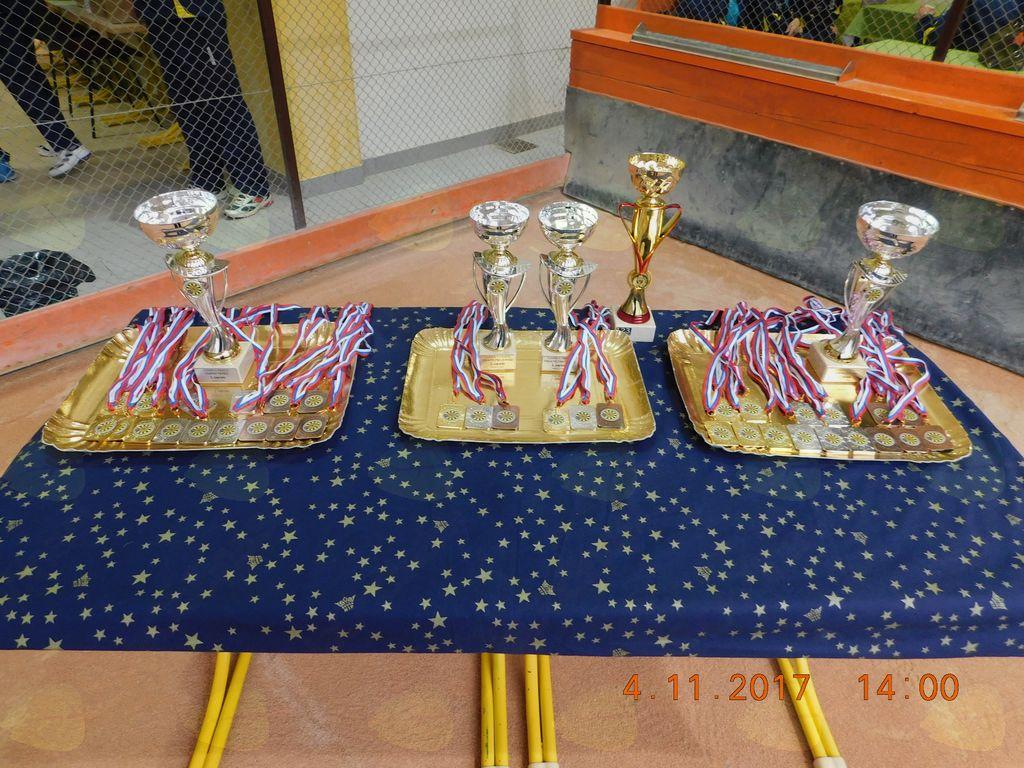 Pokali in medalje.