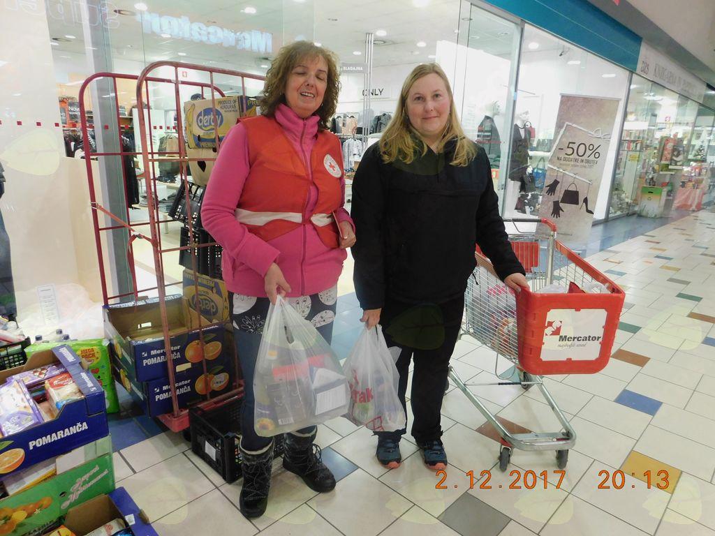 Naj darovalka akcije SOSED SOSEDU SOSED v Logatcu