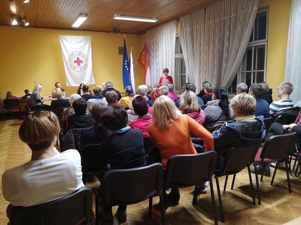 Zbor članov OZRK Logatec