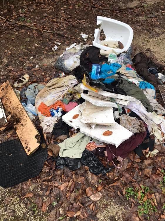 Neprimerno odloženi odpadki v naravi
