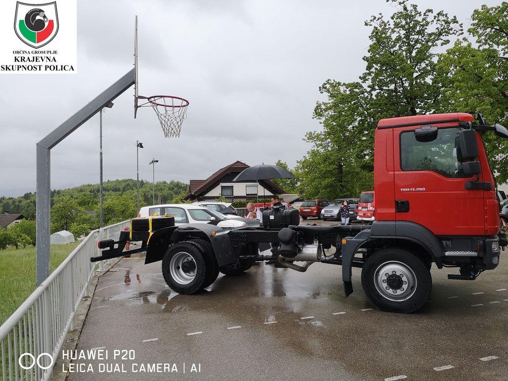 Novo vozilo GVC 16/25 znamke MAN