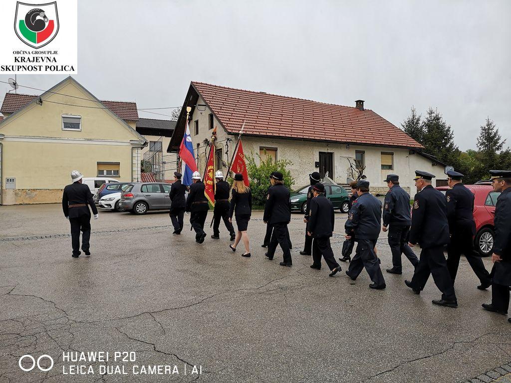 Florjanova maša in blagoslov novega podvozja za GVC 16/25 - PGD Polica.