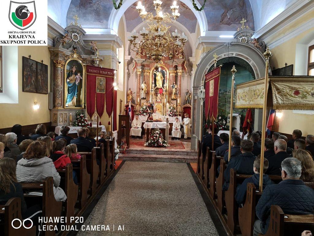 Sv, maša v župnijski cerkvi Sv. Jakoba
