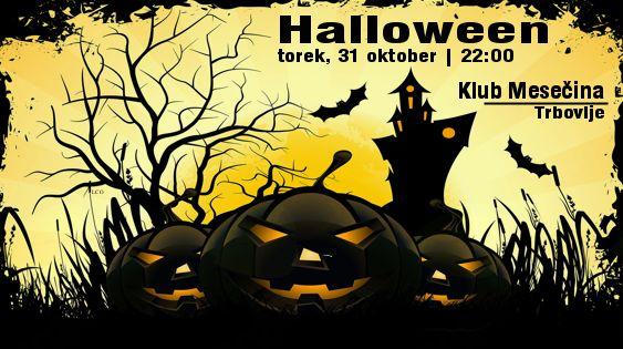 Halloween   torek, 31. oktober v Mesečini Trbovlje