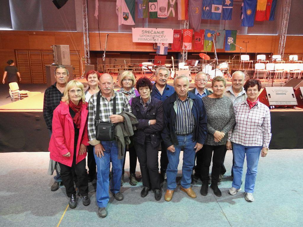 Udeležba DU Bilje na tradicionalnem srečanju upokojencev Primorske v Novi Gorici