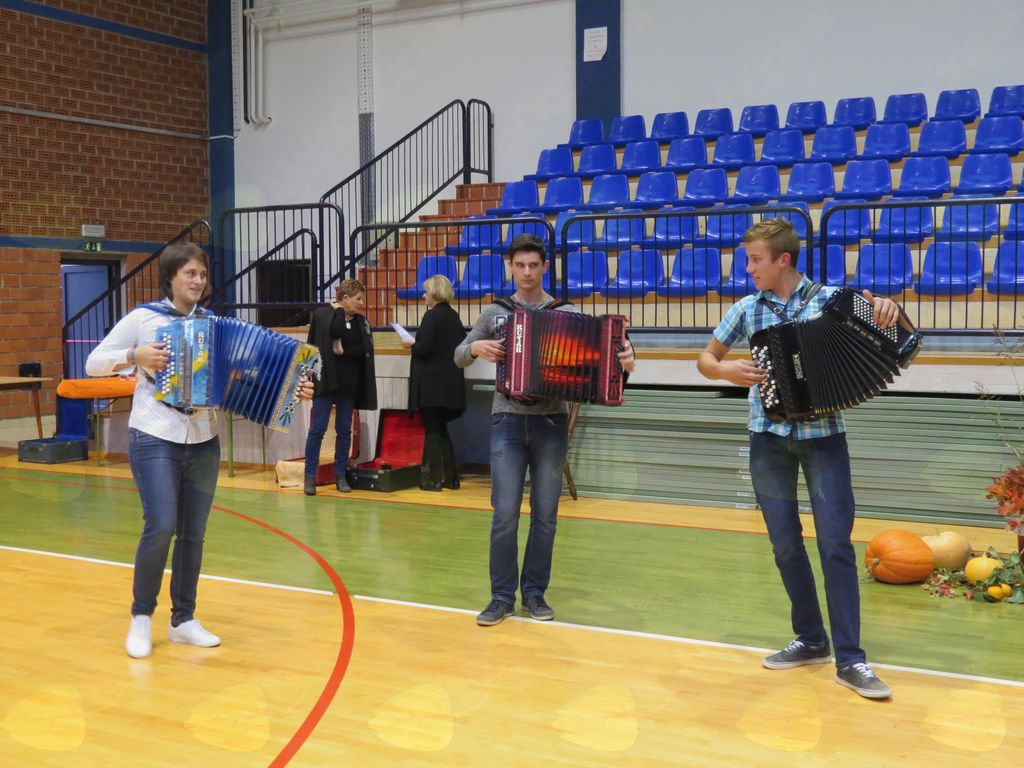 Naši mladi harmonikarji