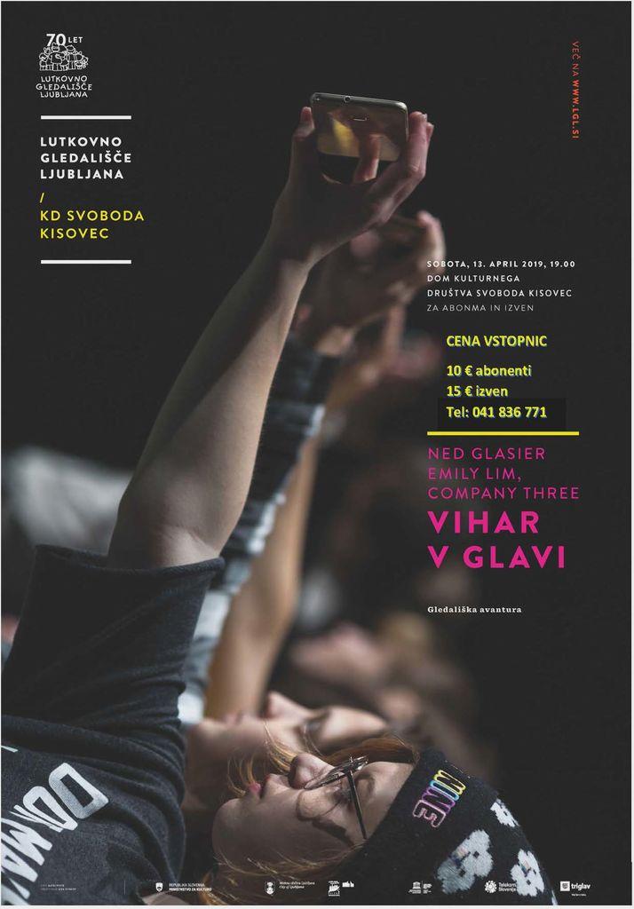 gledališka predstava Vihar v glavi