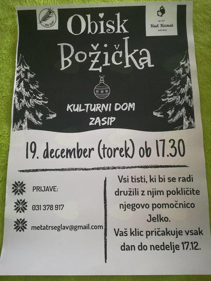 Obisk Božička v Zasipu