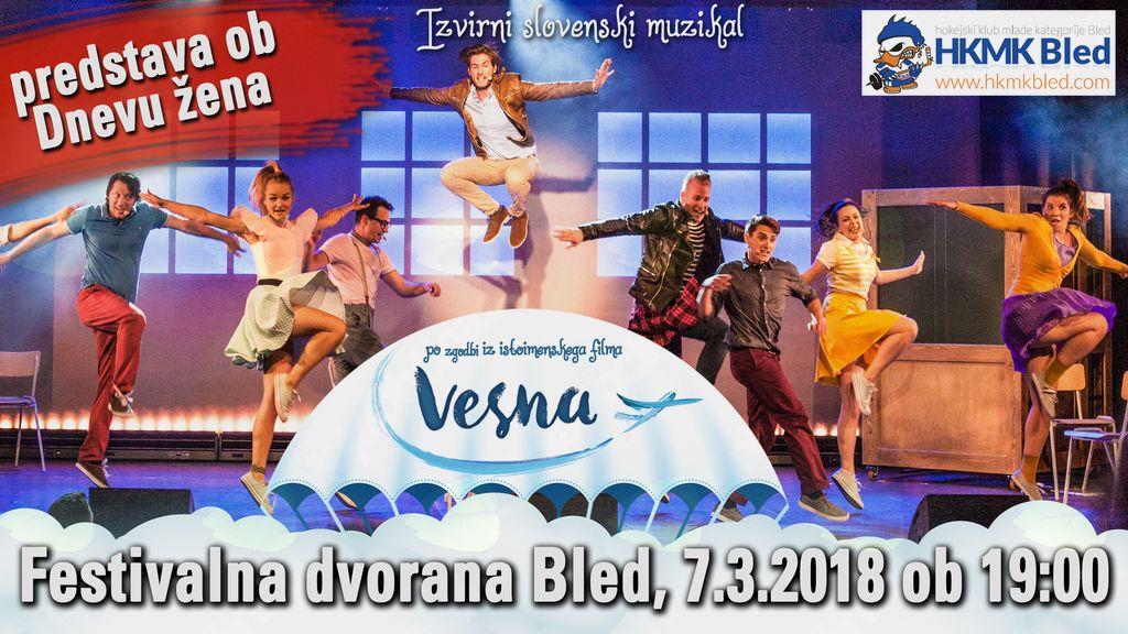 Muzikal Vesna v Festivalni dvorani Bled