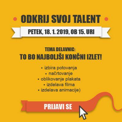 Odkrij svoj talent