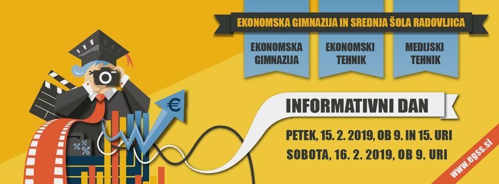 Informativni dan na EGSŠ Radovljica
