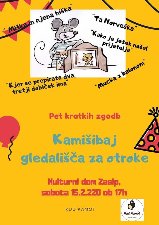 4. abonmajska predstava za otroke v Zasipu