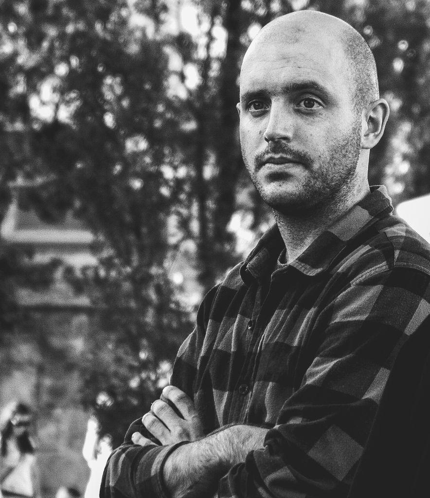 Miha Avsenik, grafični oblikovalec, bivši dijak EGSŠ Radovljica