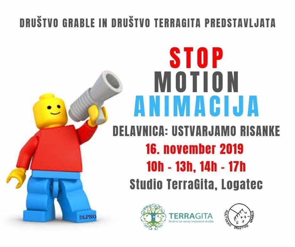Delavnica za otroke in mladino: Ustvarjamo risanke (LE-GO stop motion)