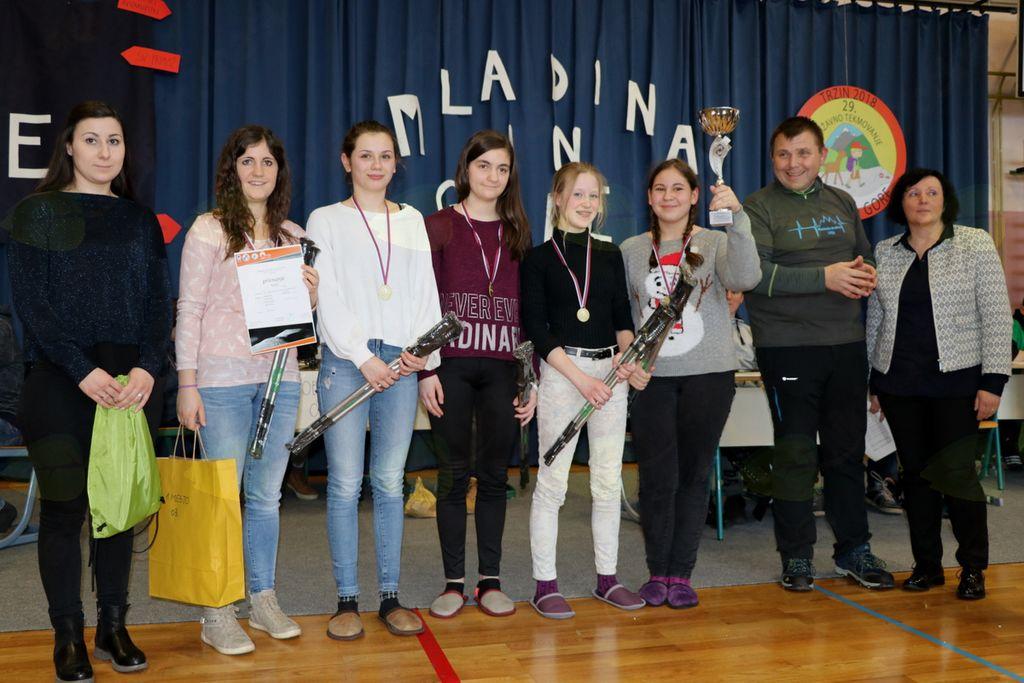 Podnanoške planinke prvakinje v znanju planinstva