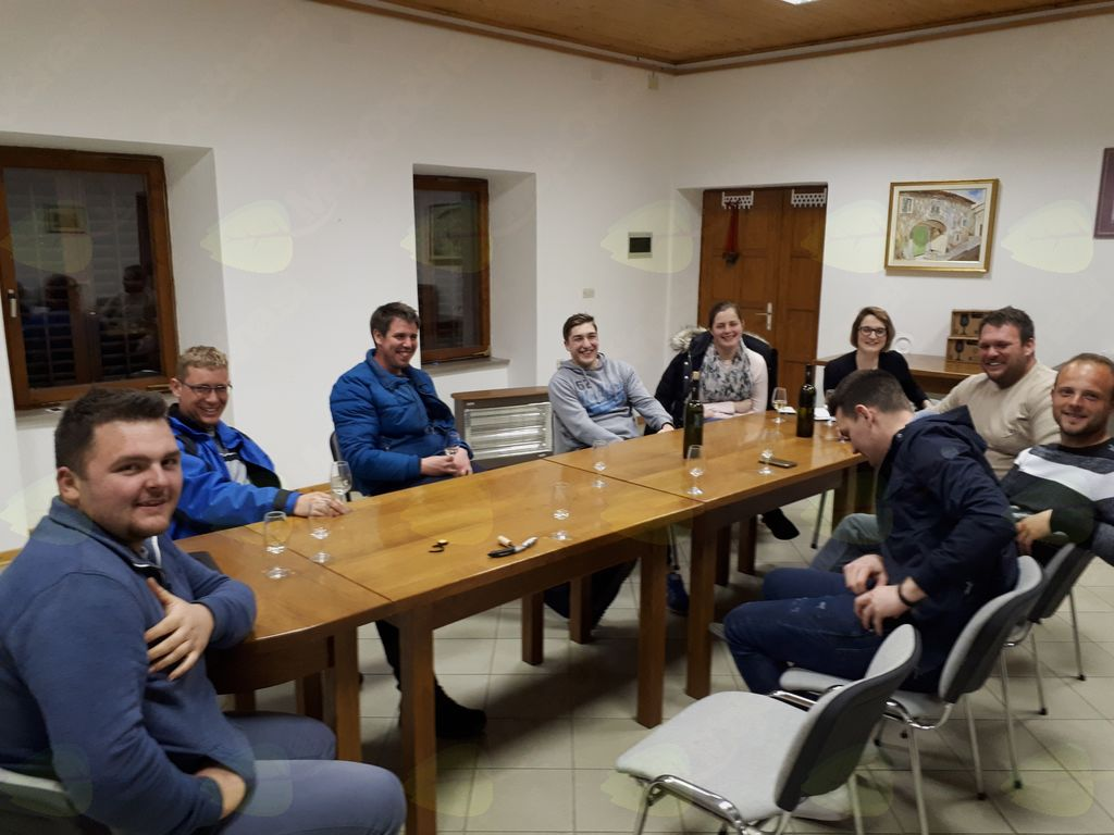 Srečanje 'young winemakers' na Gočah