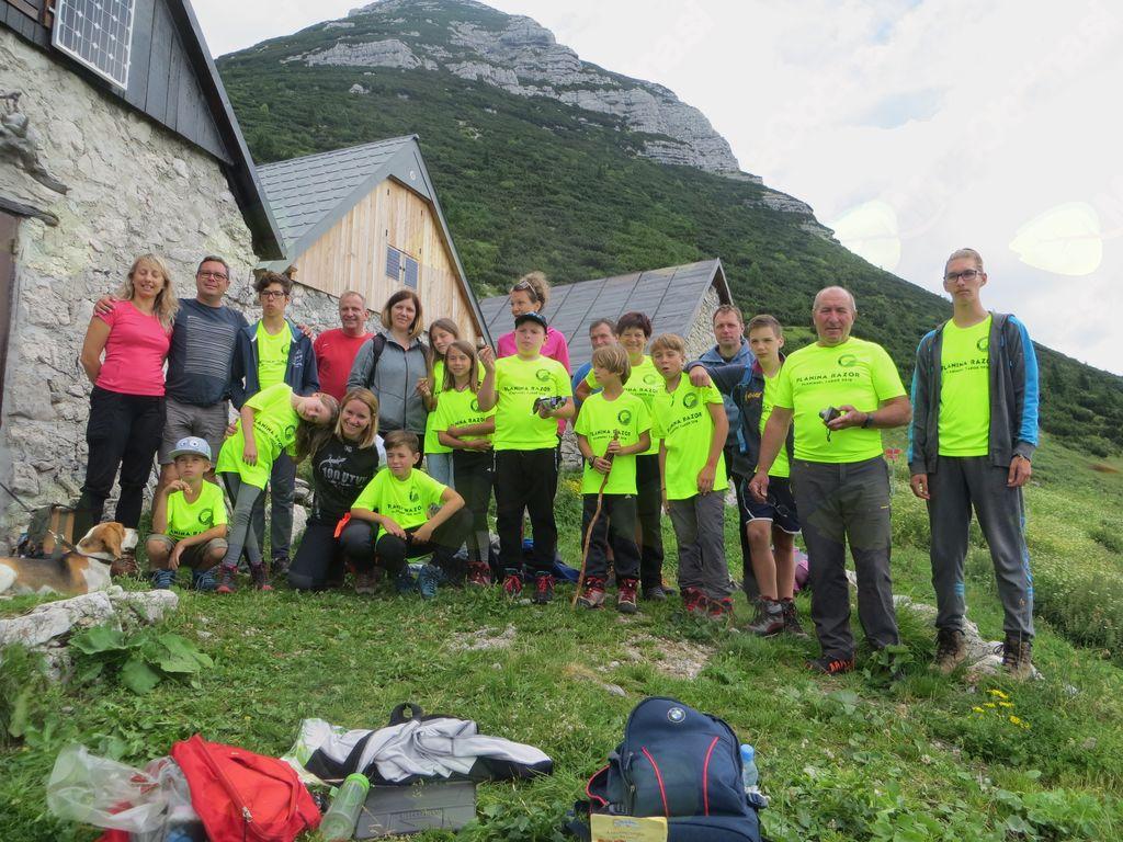 Mladinski tabor na planini Razor