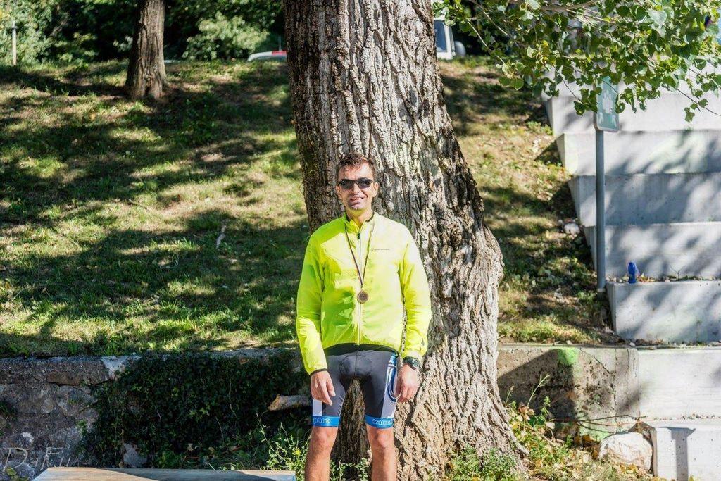 Na 3. kolesarskem maratonu dosegel 3. mesto