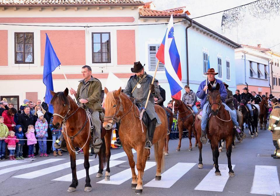Blagoslov konj v Vipavi