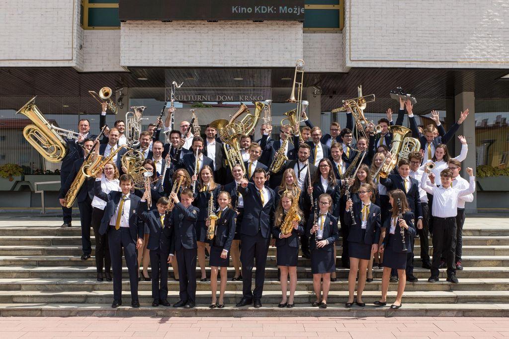 Zmaga vrhpoljskega orkestra v Krškem