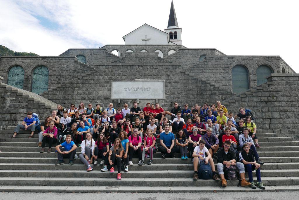 Dvodnevni pohod devetošolcev OŠ Danila Lokarja Ajdovščina