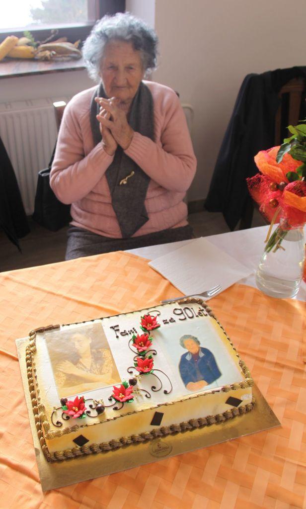 90 let Fani Frančiške Žvokelj z Goč