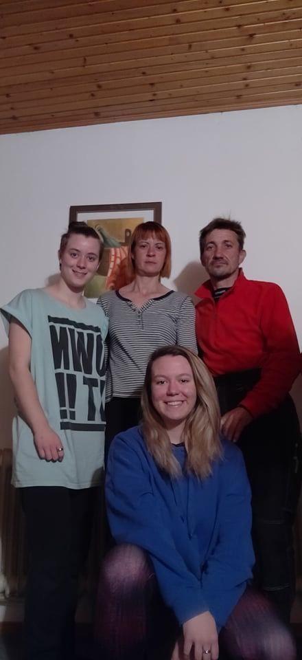 Marko, Mirjam, Kristina in Nika