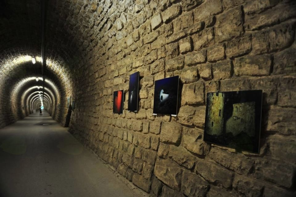 Razstava podvodnih fotografij v tunelu Valeta v Portorožu