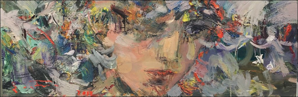 Samostojna likovna razstava Eduarda Belskya