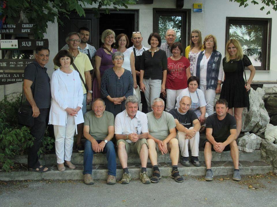 udeleženci 22. kolonije Umetniki za Karitas