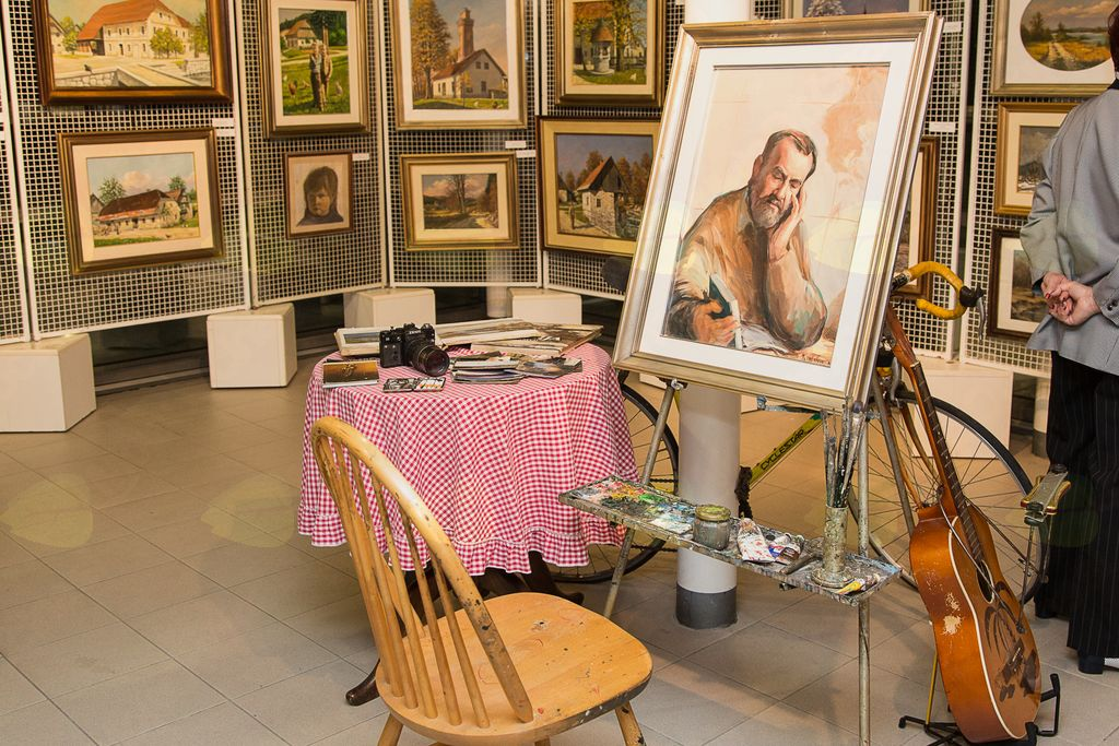 Posthumna razstava likovnih del Franca Musca ob njegovi 70. letnici rojstva