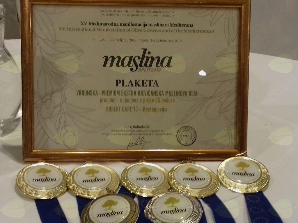 Medalje Split 2018