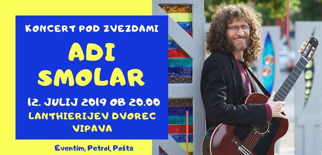 Koncert Adija Smolarja v Vipavi