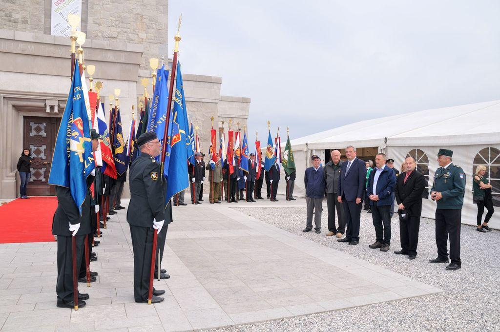Slavnostna prireditev ob mednarodnem dnevu miru na Cerju