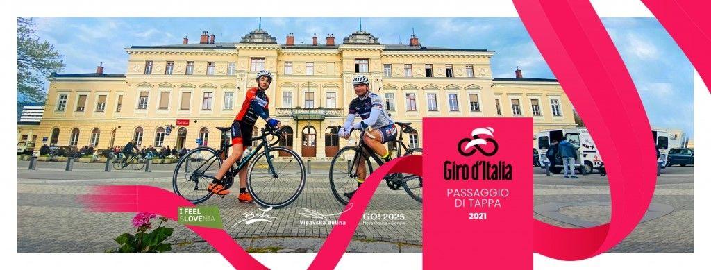 Giro d'Italia še nikoli tako blizu Miren Krasa