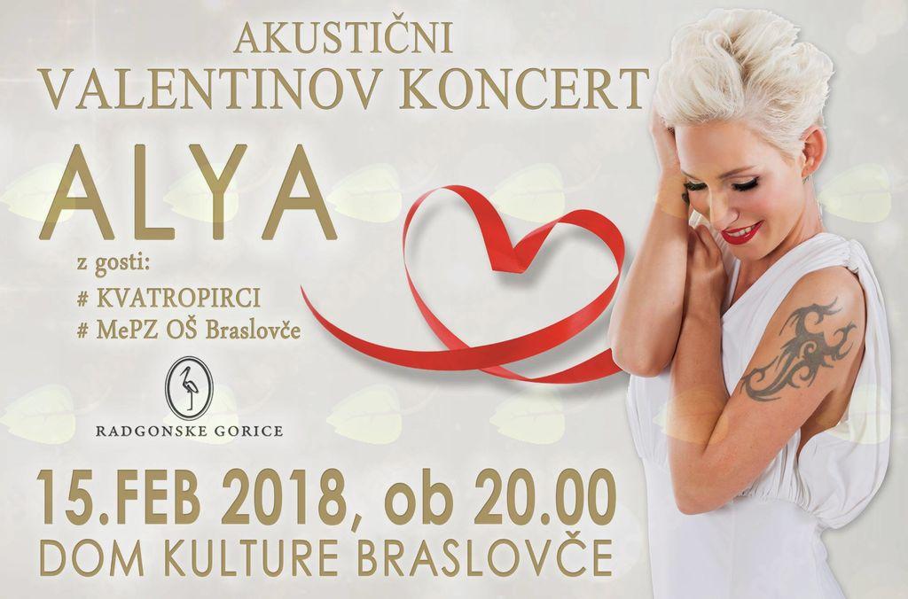 ALYA - akustični Valentinov koncert z gosti