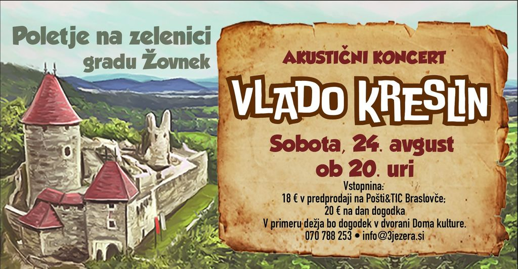 Akustični koncert: VLADO KRESLIN