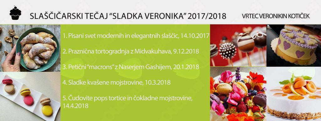 Slaščičarska delavnica Sladka Veronika