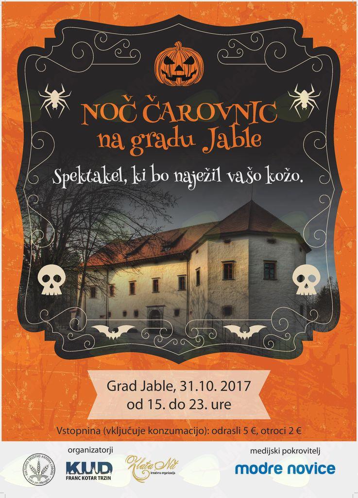 Noč čarovnic na gradu Jable