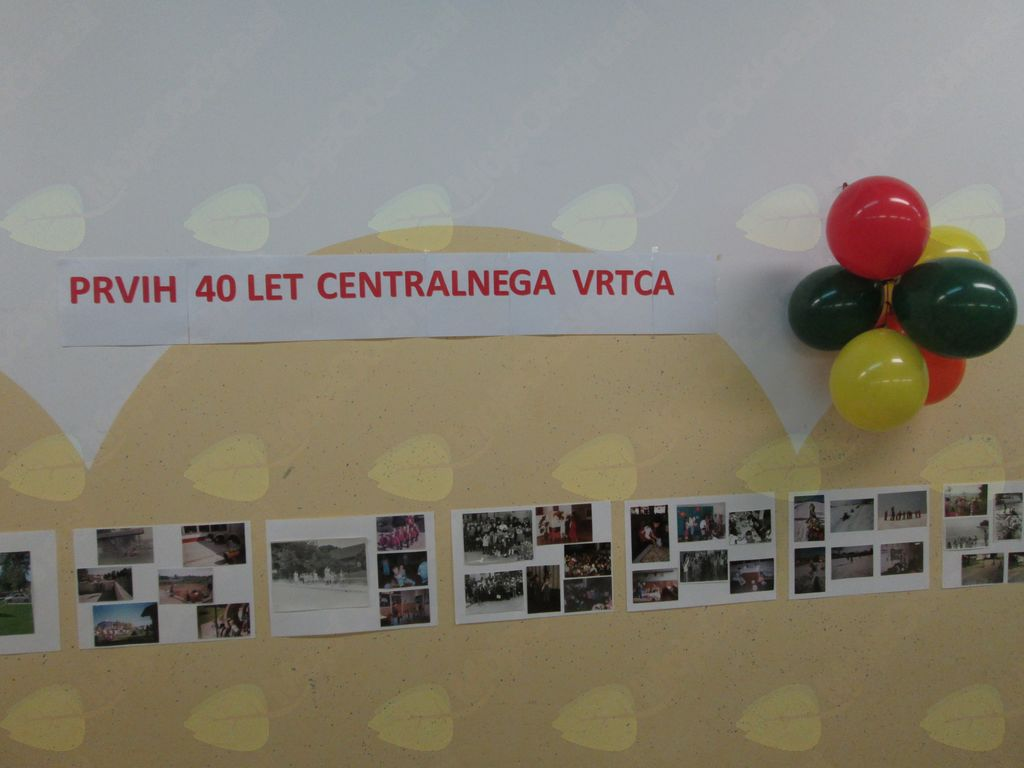 40 - letnica delovanja Centralnega vrtca