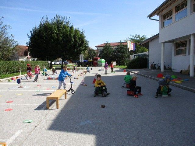 V Vrtcu Tabor smo sodelovali v Evropskem tednu mobilnosti 2019 - Gremo peš!