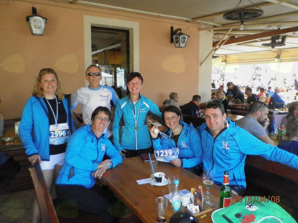 Člani ŠD Tek je lek na Istrskem maratonu